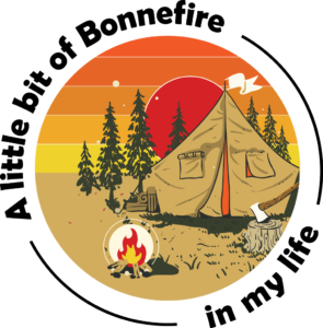 bonnefire campsite graphic