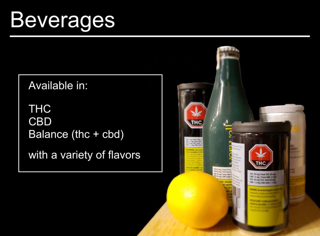 beverages info card